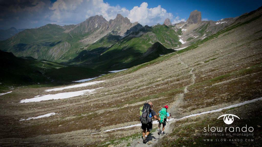 trek itinérant Piera Menta beaufortain slow rando