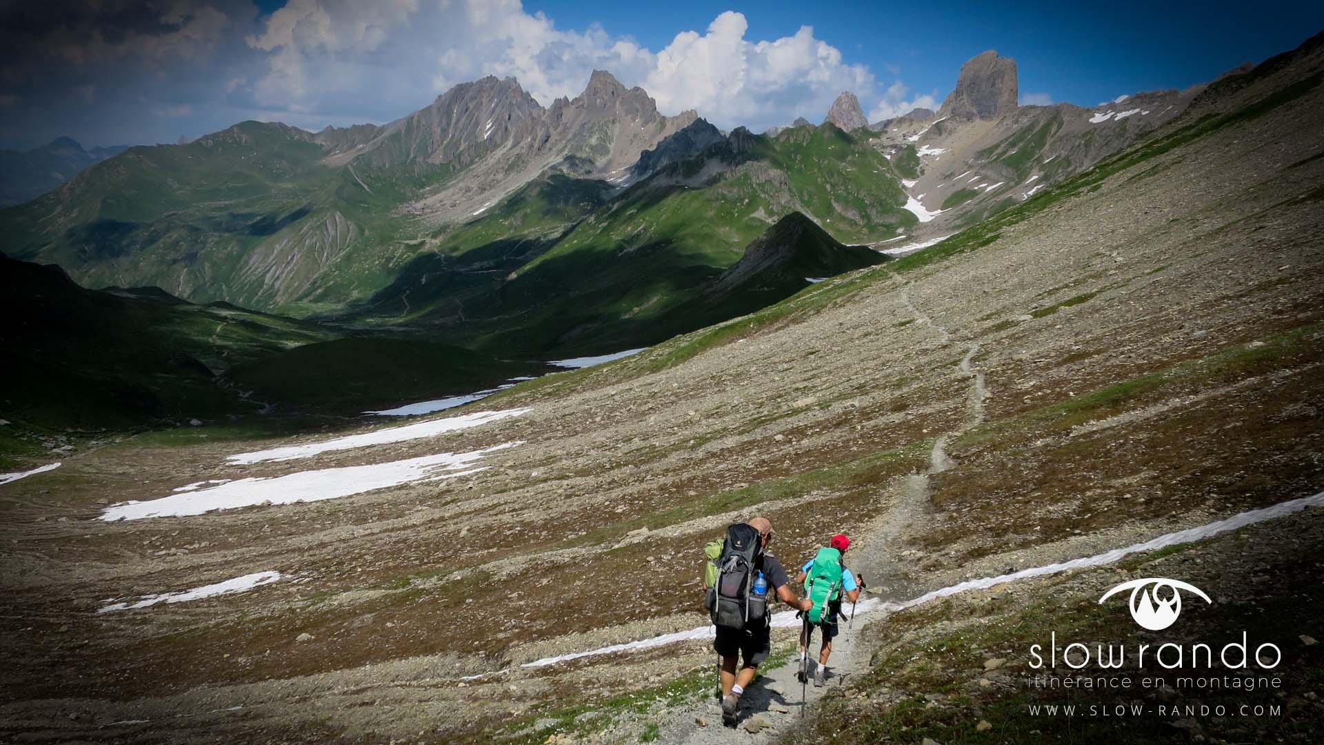 Beaufortain Tour Itinerance Trek Bivouac Sentier Piera Menta Slow Rando