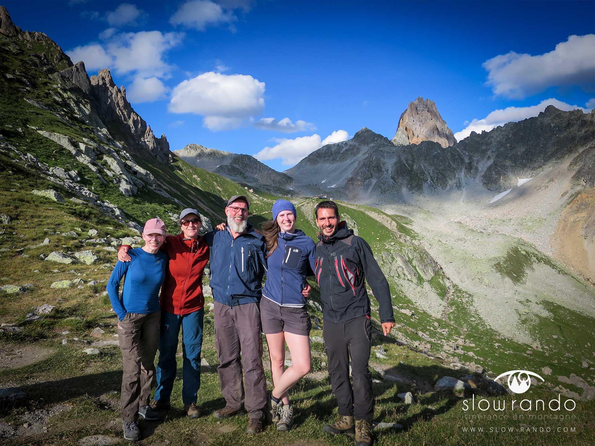 Beaufortain Tour Itinerance Trek Bivouac Col Bresson Slow Rando