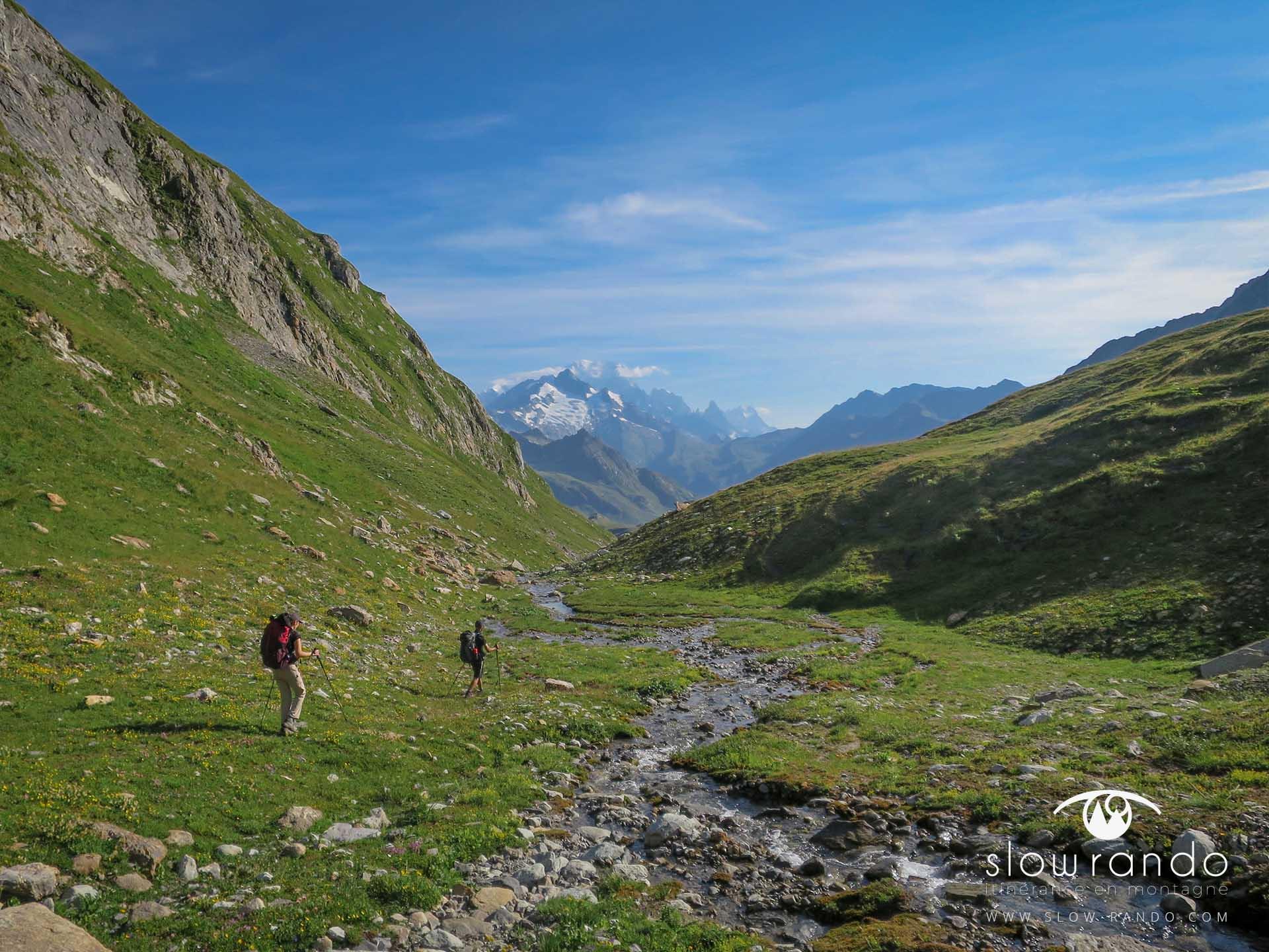 Beaufortain Tour Itinerance Trek Bivouac Combe Neuva Hors Sentier Sauvage Slow Rando