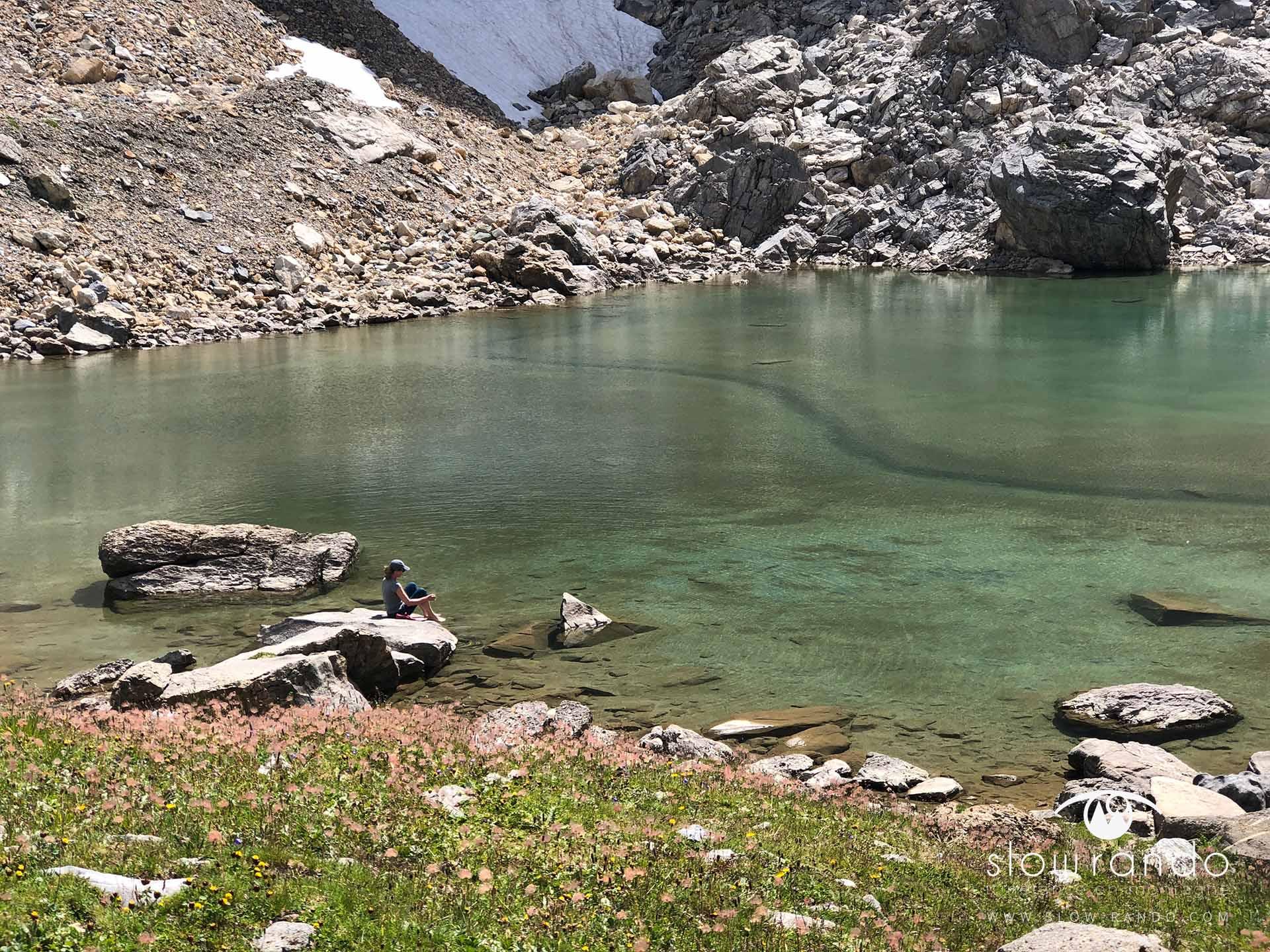Beaufortain Tour Itinerance Trek Bivouac Detente Lac Slow Rando
