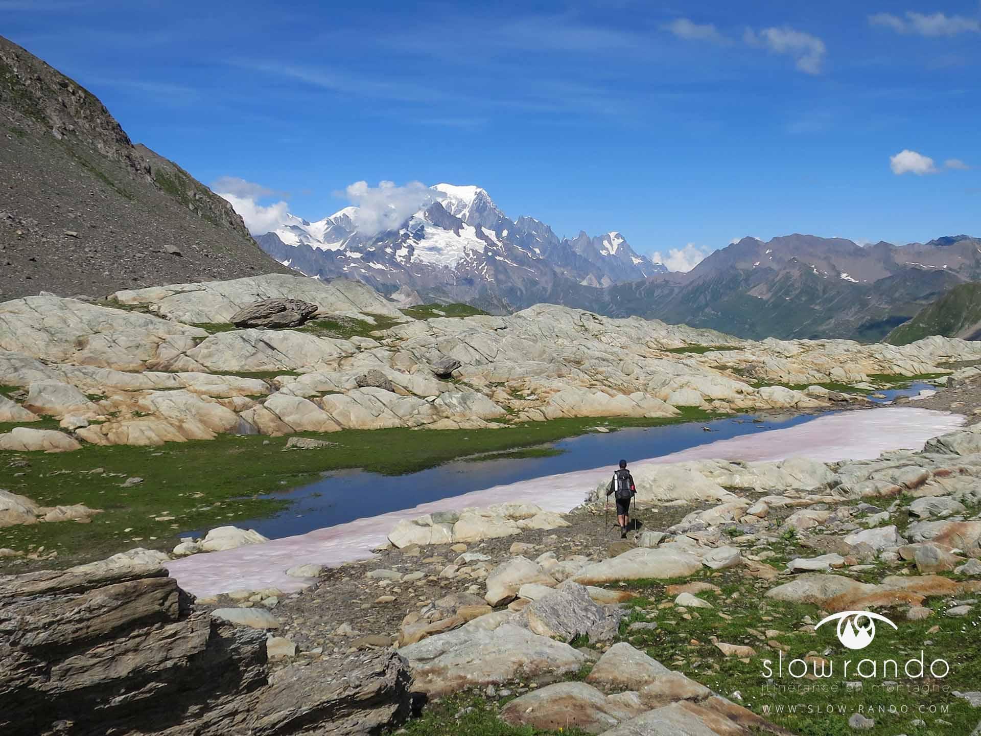 Beaufortain Tour Itinerance Trek Bivouac Hors Sentier Combe Neuva Slow Rando