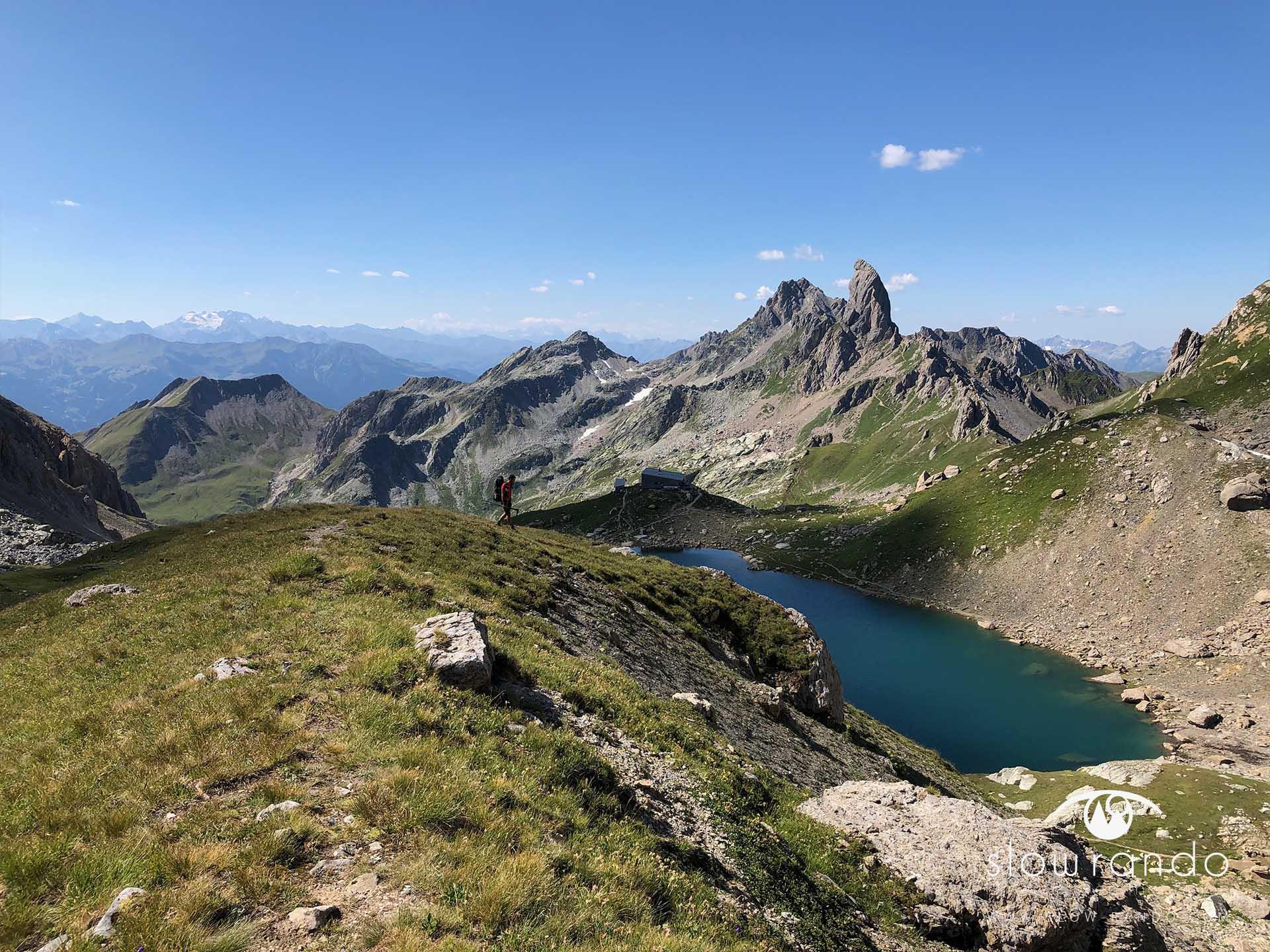 Beaufortain Tour Itinerance Trek Bivouac Piera Menta Slow Rando