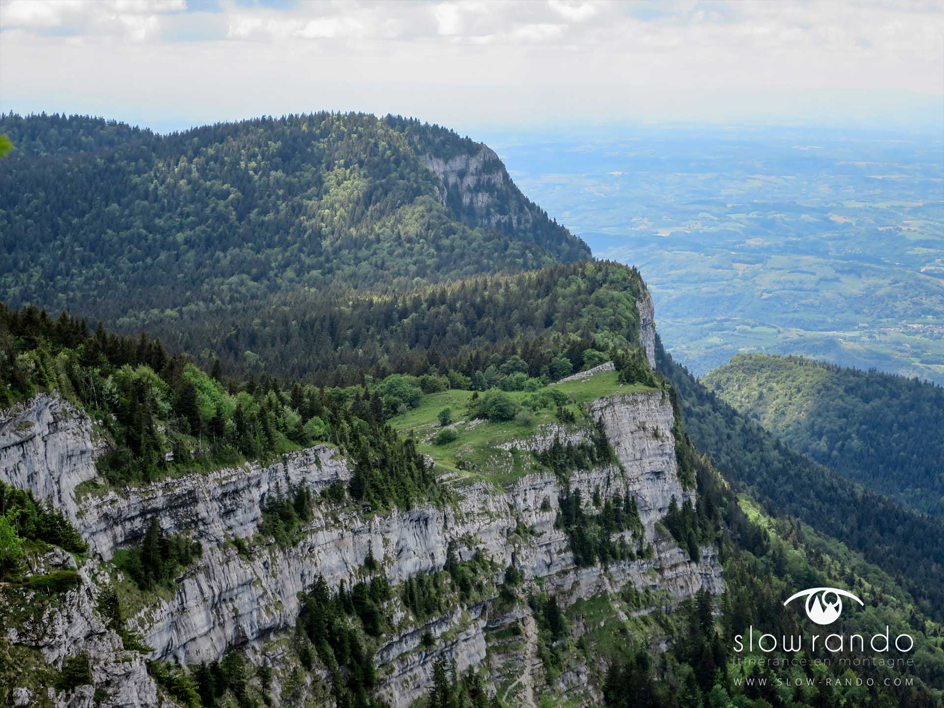 Stage Formation Itinerance Montagne Bivouac Falaise Vercors N1 Slow Rando