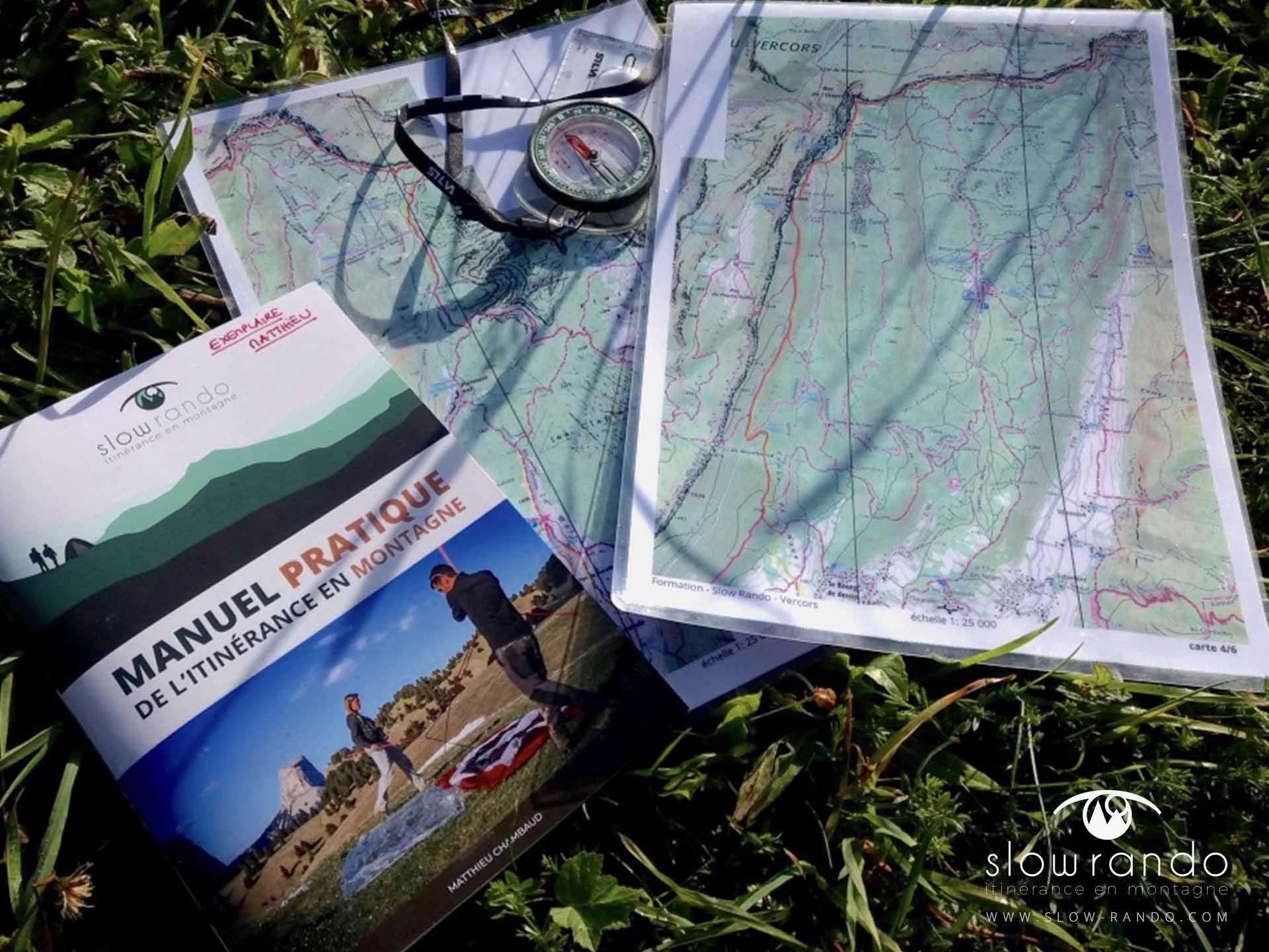 Stage Formation Itinerance Montagne Bivouac Manuel Pratique Vercors N1 Slow Rando