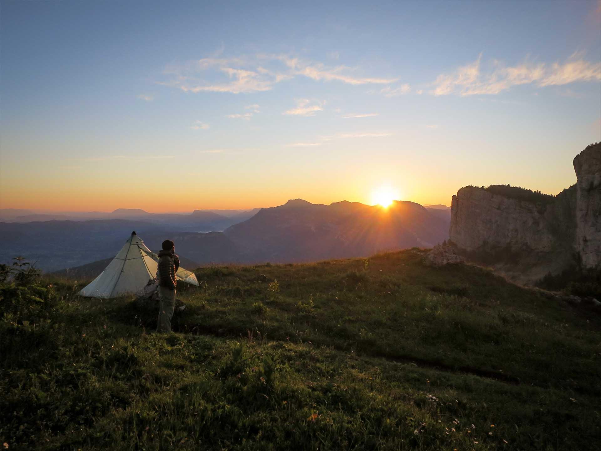 Bivouac Formation Stage Autonomie Montagne Slow Rando Sunset 2020