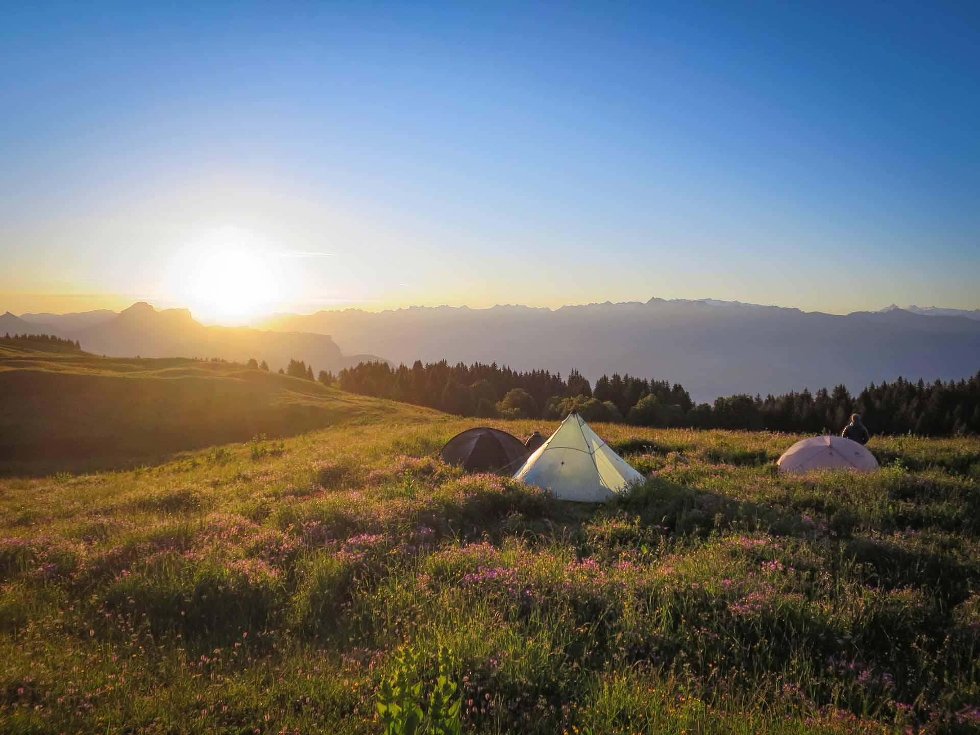 Bivouac Formation Stage Autonomie Montagne Slow Rando Vercors Lever Soleil 2020