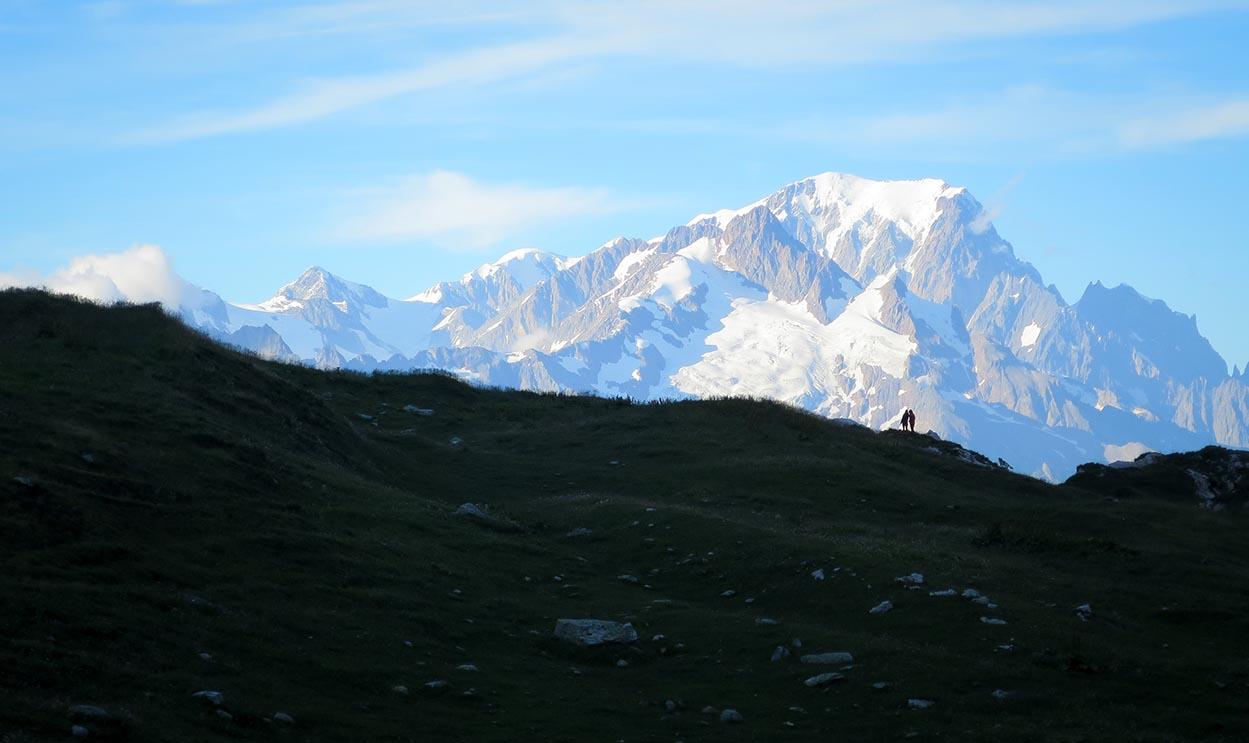 Sejour Liberte Itinerance Bivouac Slow Rando Beaufortain 2020 Ambiance Mont Blanc