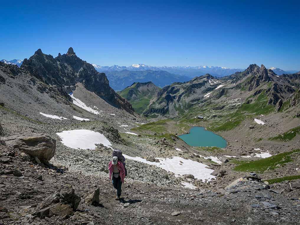 Sejour Liberte Itinerance Bivouac Slow Rando Beaufortain 2020 Col Grand Fond