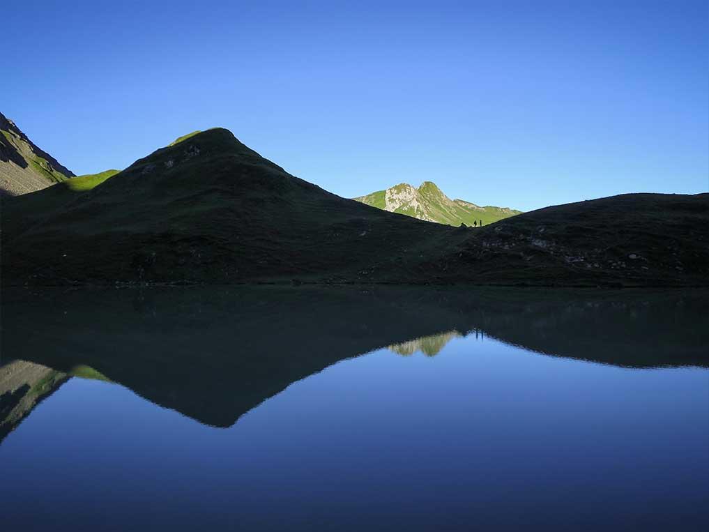 Sejour Liberte Itinerance Bivouac Slow Rando Beaufortain 2020 Lac Amour Reflexions
