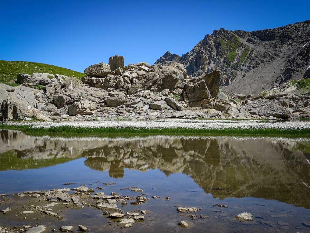 Sejour Liberte Itinerance Bivouac Slow Rando Beaufortain 2020 Lac Linaigrette