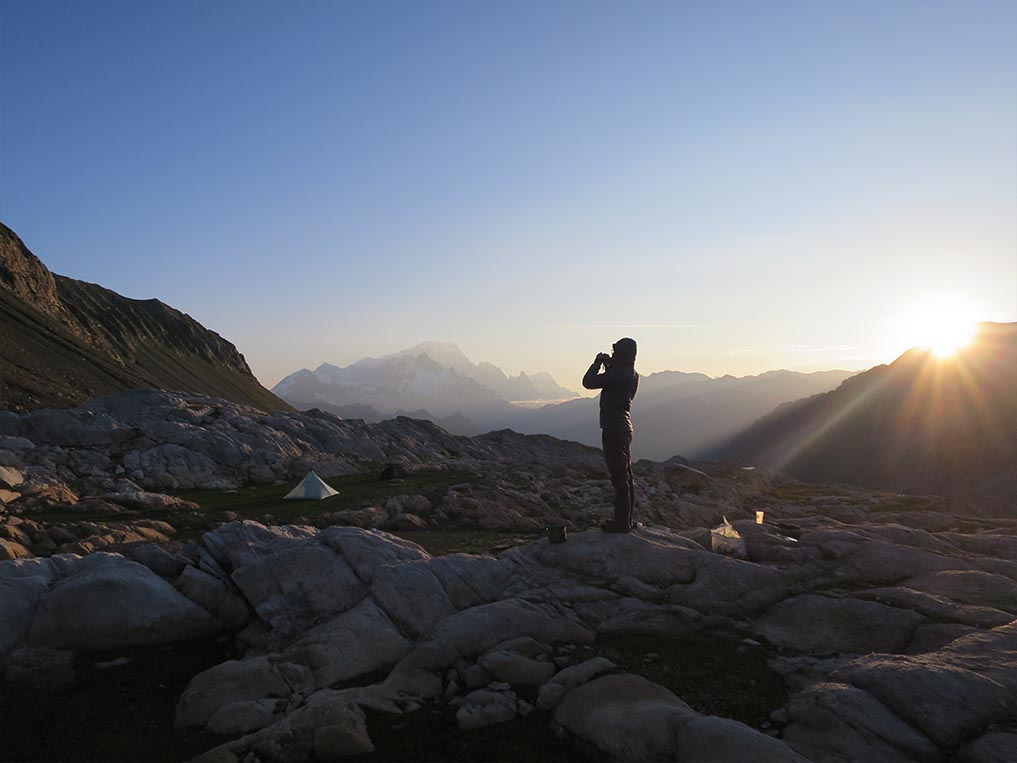 Sejour Liberte Itinerance Bivouac Slow Rando Beaufortain 2020 Spot Anthologie