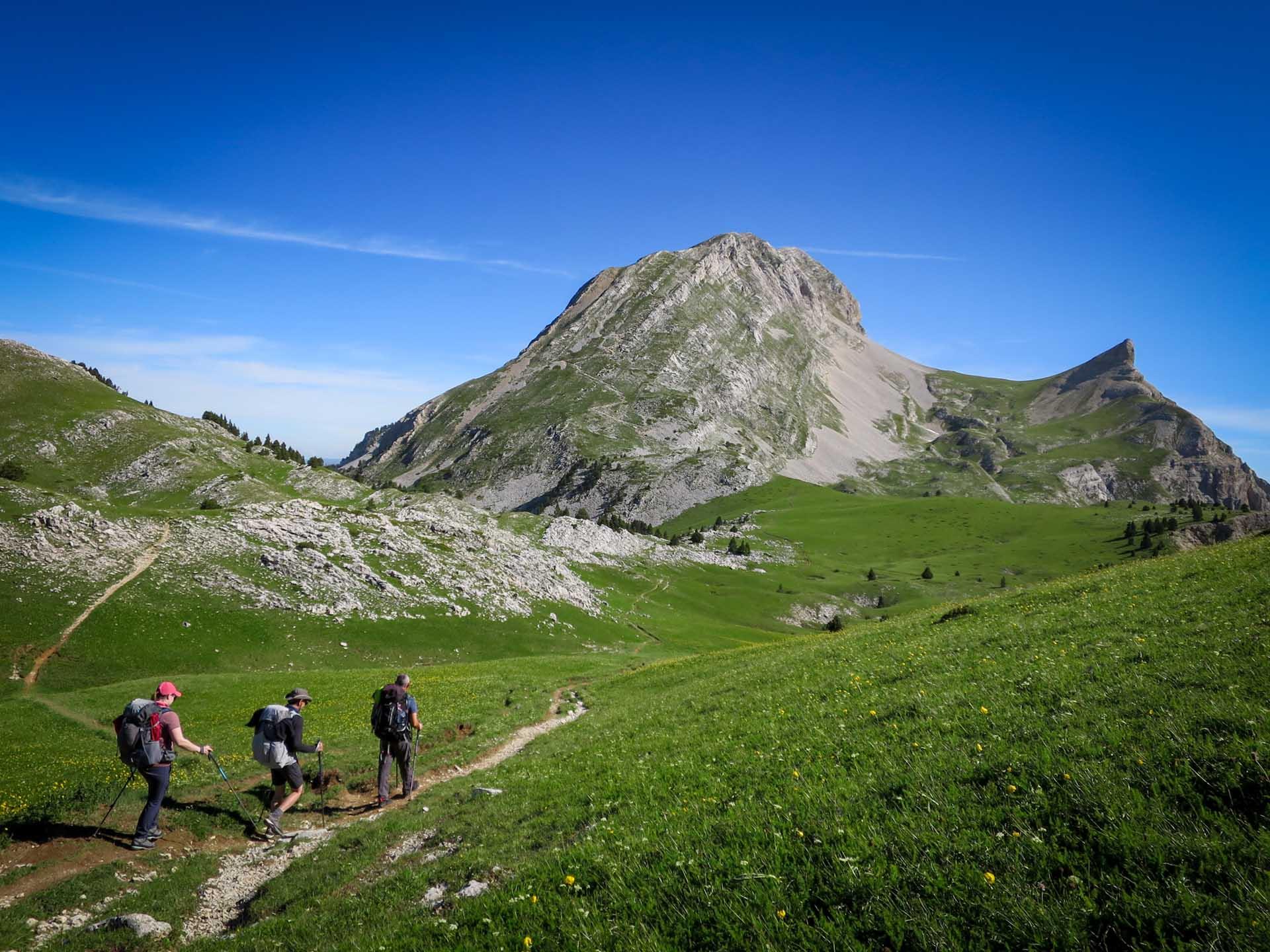 Ascension Grand Veymont Hauts Plateaux Vercors Itinerance Sejour Trek Tente Slow Rando