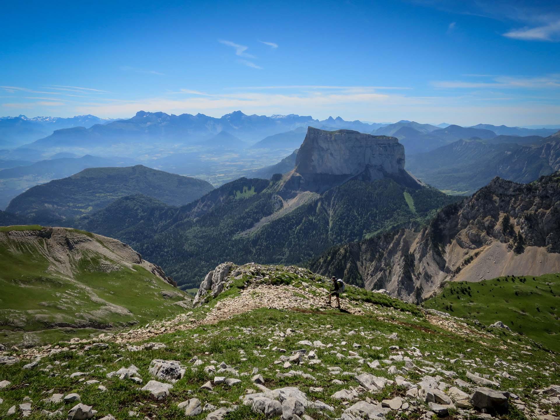 Ascension Grand Veymont Mont Aiguille Hauts Plateaux Vercors Itinerance Sejour Trek Tente Slow Rando
