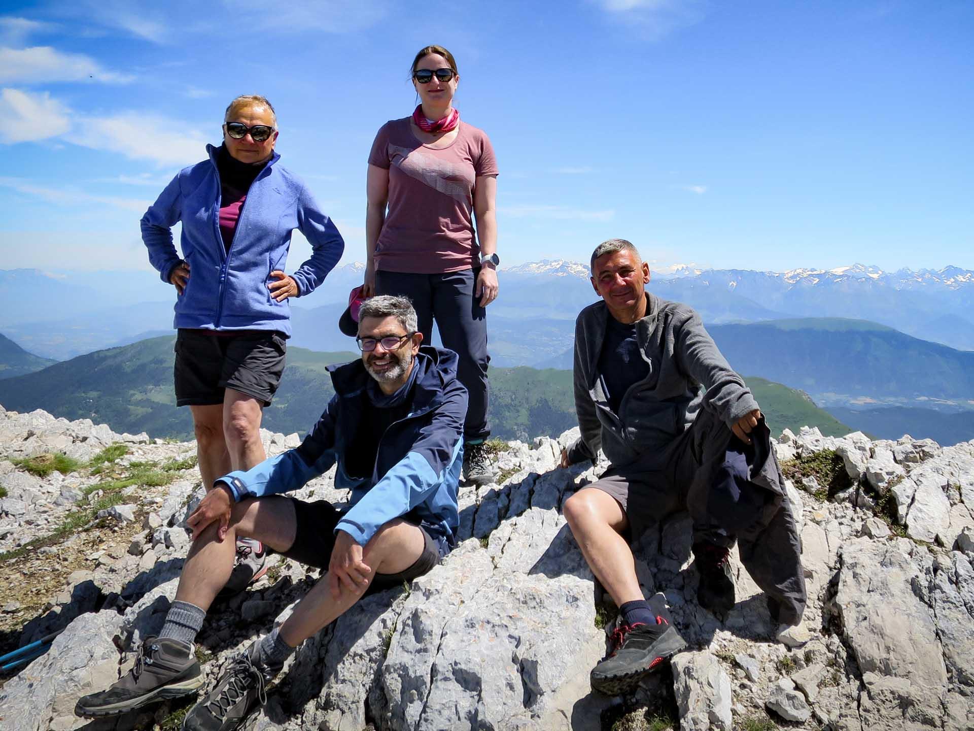 Ascension Grand Veymont Sommet Hauts Plateaux Vercors Itinerance Sejour Trek Tente Slow Rando