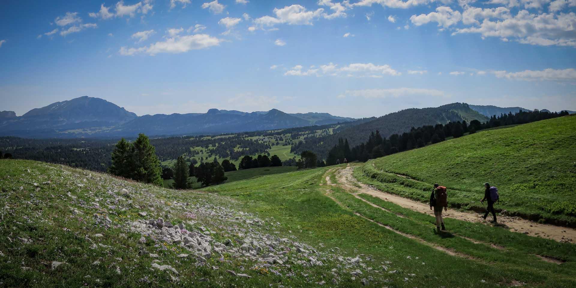 Slow Rando Reserve Hauts Plateaux Vercors Grand Veymont Rousset Col