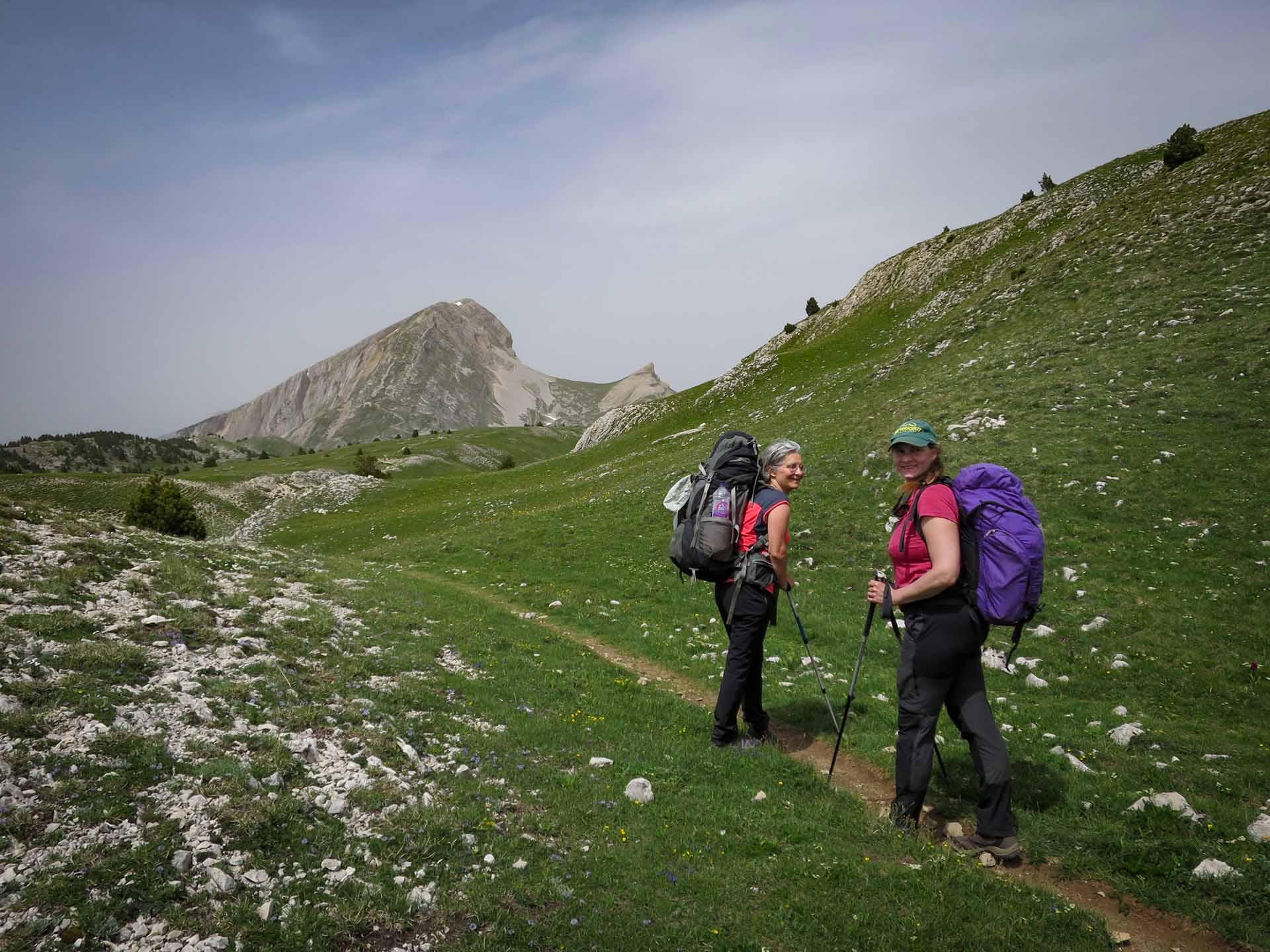 Slow Rando Reserve Hauts Plateaux Vercors Mont Aiguille Grand Veymont