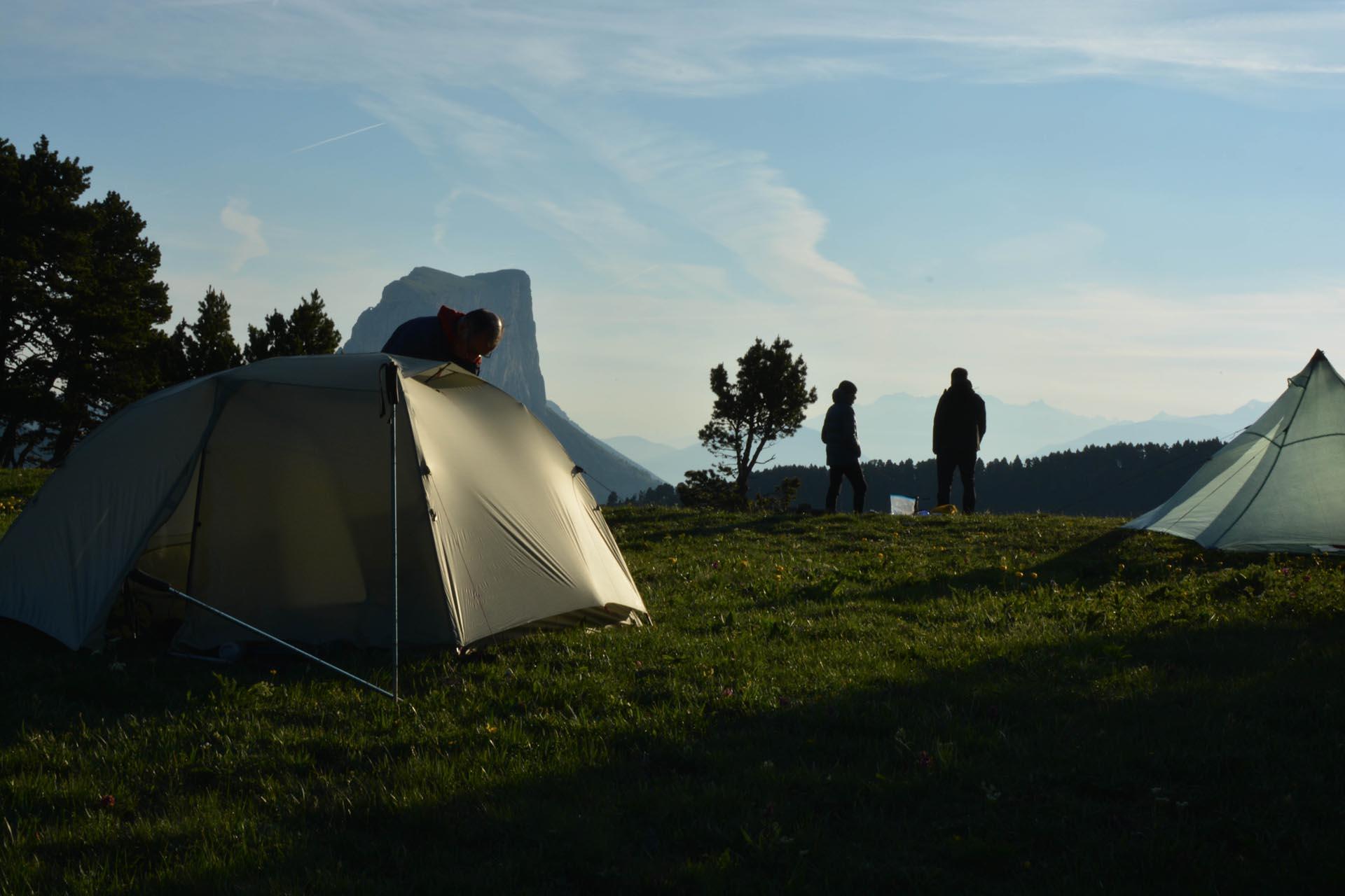 Slow Rando Sejour Liberte Decouverte Bivouac Hauts Plateaux Vercors Mont Aiguille 4