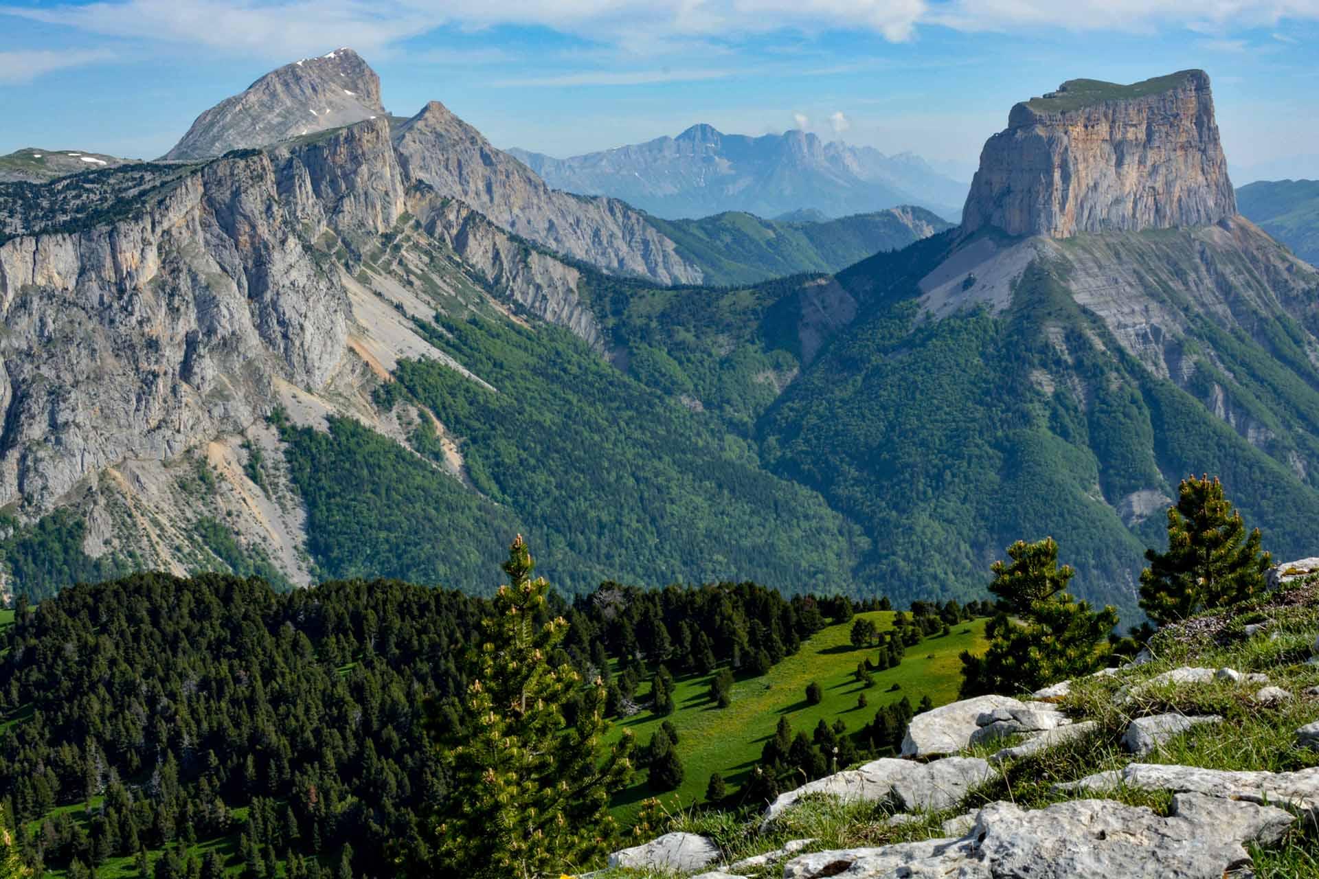 Slow Rando Sejour Liberte Decouverte Bivouac Hauts Plateaux Vercors Mont Aiguille Grand Veymont 2