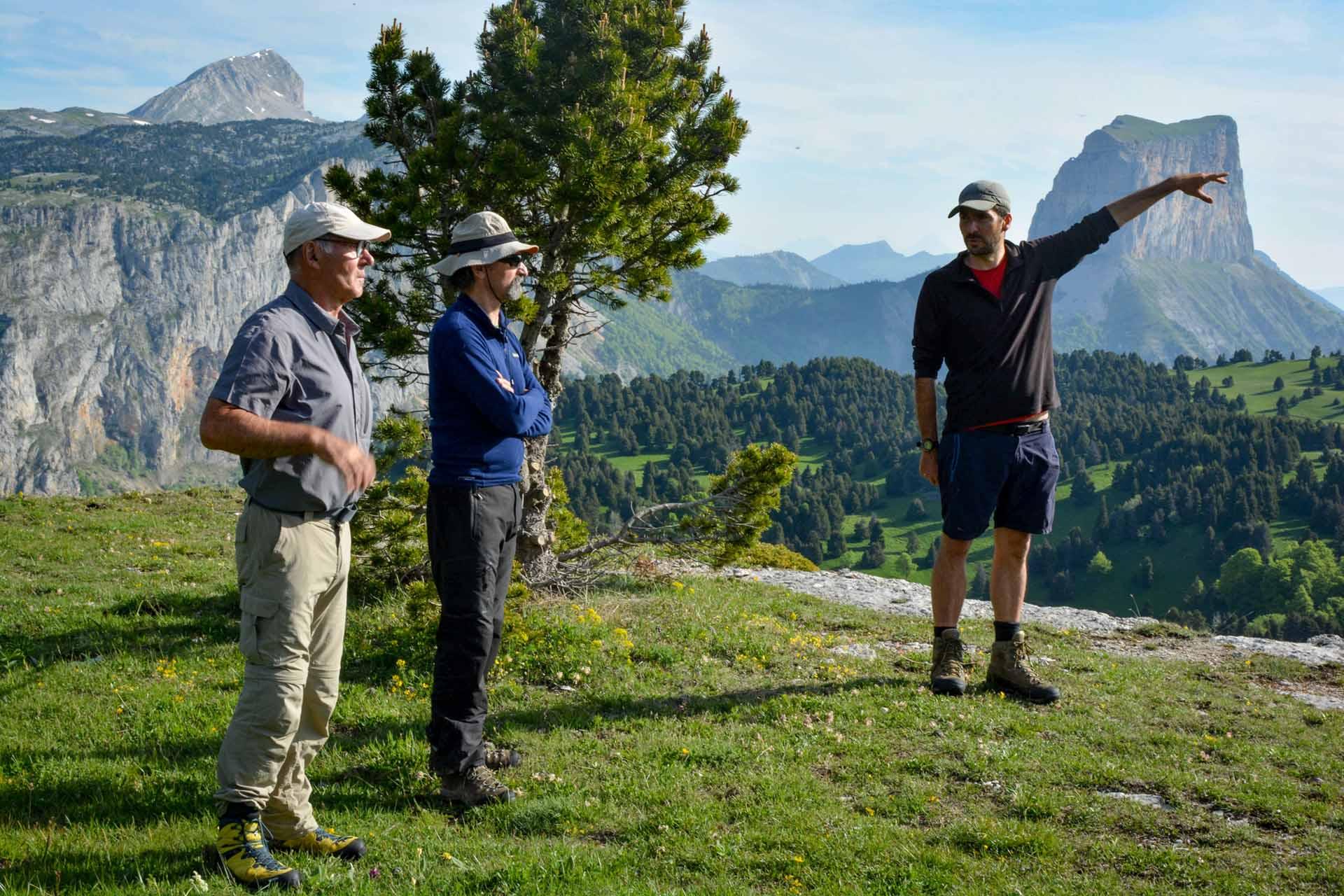 Slow Rando Sejour Liberte Decouverte Bivouac Hauts Plateaux Vercors Mont Aiguille Matthieu Chambaud