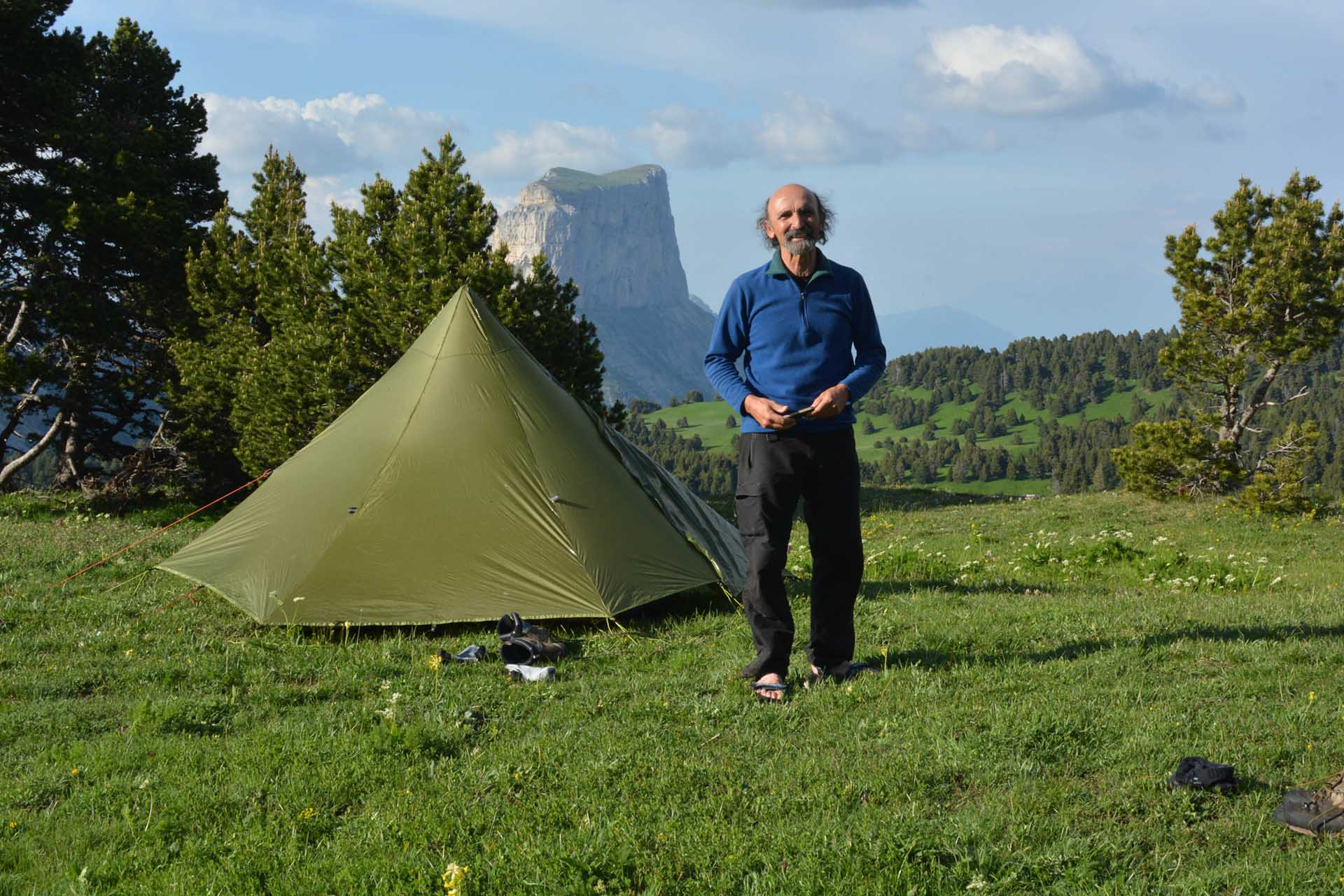 Slow Rando Sejour Liberte Decouverte Bivouac Hauts Plateaux Vercors Mont Aiguille Olivier