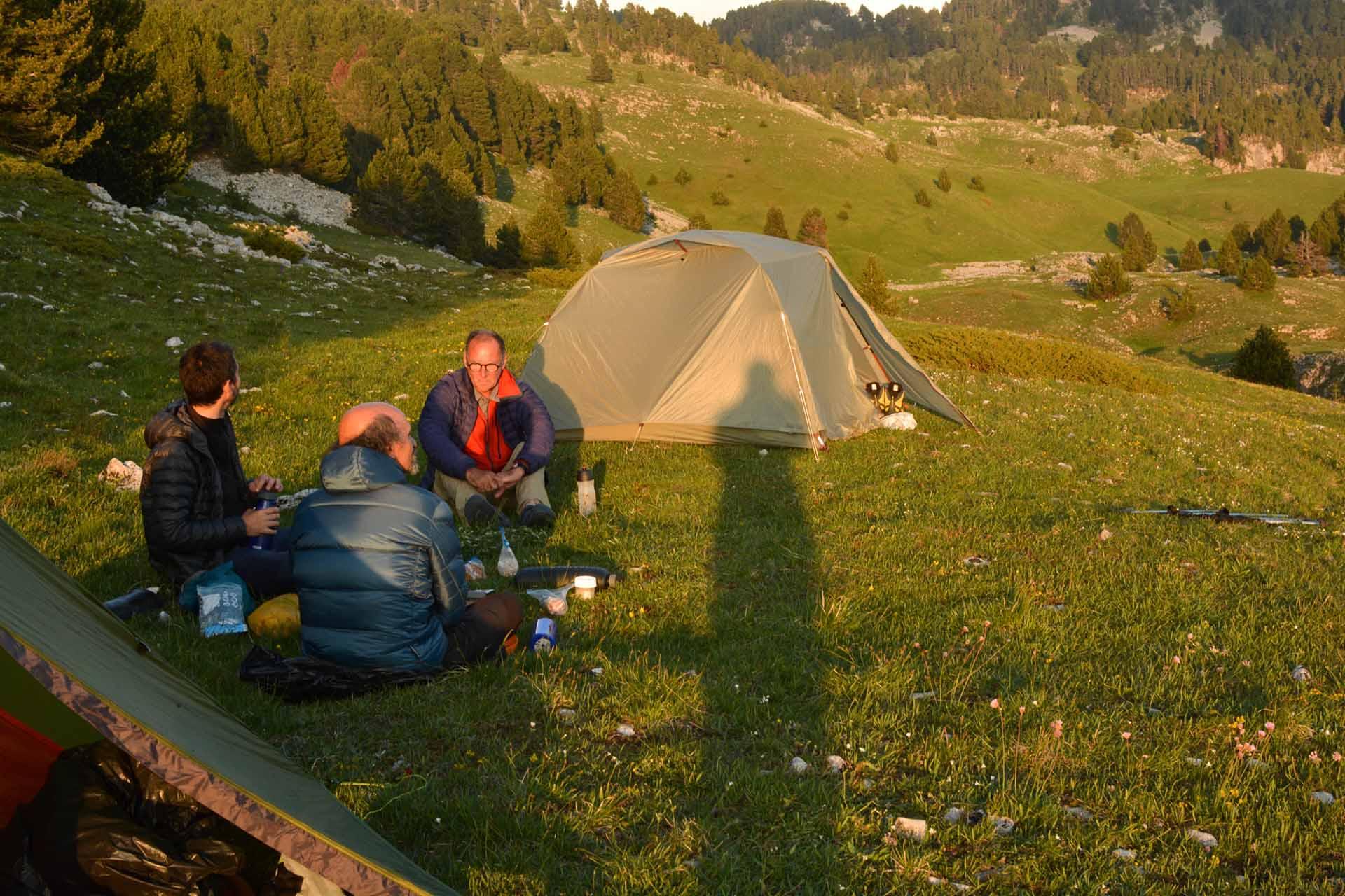 Slow Rando Sejour Liberte Decouverte Bivouac Hauts Plateaux Vercors Mont Aiguille Tipi Tente 2