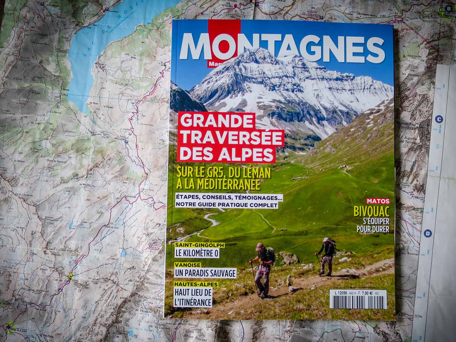 Montagnes Magazine Slow Rando GR5 Traversee Alpes