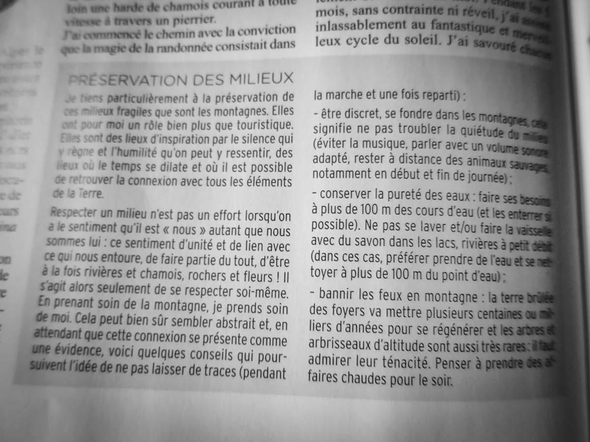 Montagnes Magazine Slow Rando Chambaud Milieux